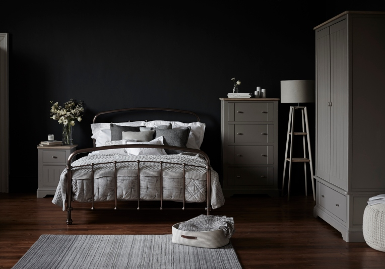 next homewares scandinavian bedroom grey pallette