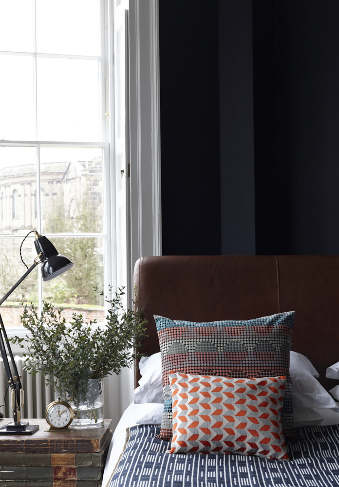 Eleanor Pritchard cushions. Interior photography by Joanna Henderson